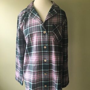 NWT Eddie Bauer flannel sleep shirt